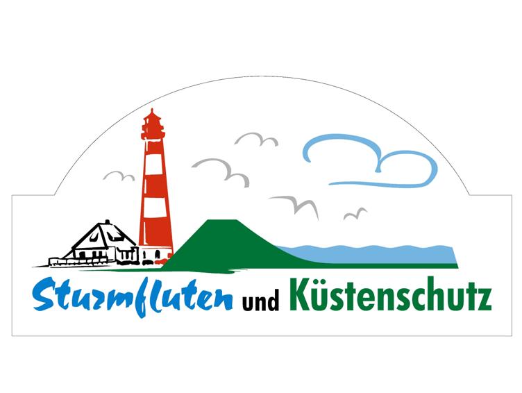 Die Ausstellung Sturmfluten und Küstenschutz in der Dörpstuuv Kollmar