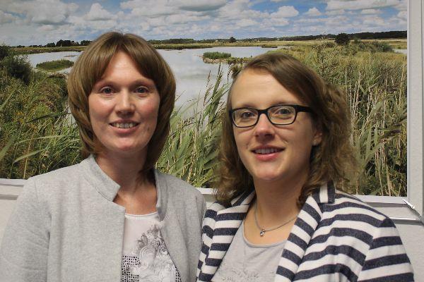 Gönna Hamann und Katharina Kruse