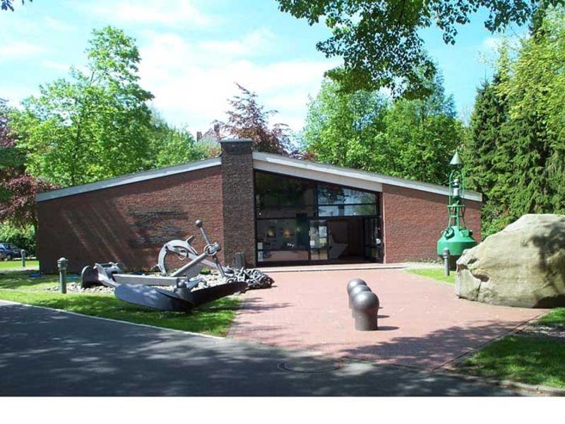 In dem Museum Atrium wird der Bau, der Betrieb und die Bedeutung des Nord-Ostsee-Kanals dargestellt.