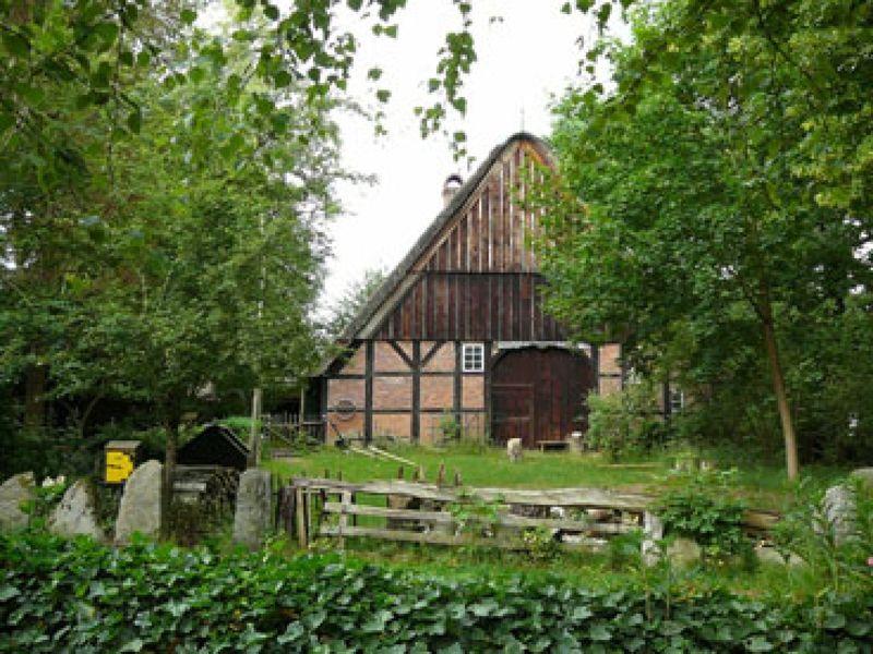 Das um 1700 erbaute Heimatmuseum im Naturpark Aukrug