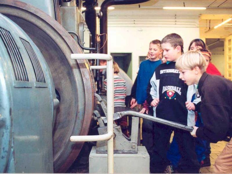 Im Industriemuseum wird die Geschichte von Arbeit und Alltag zur Zeit der Industrialisierung dargestellt.