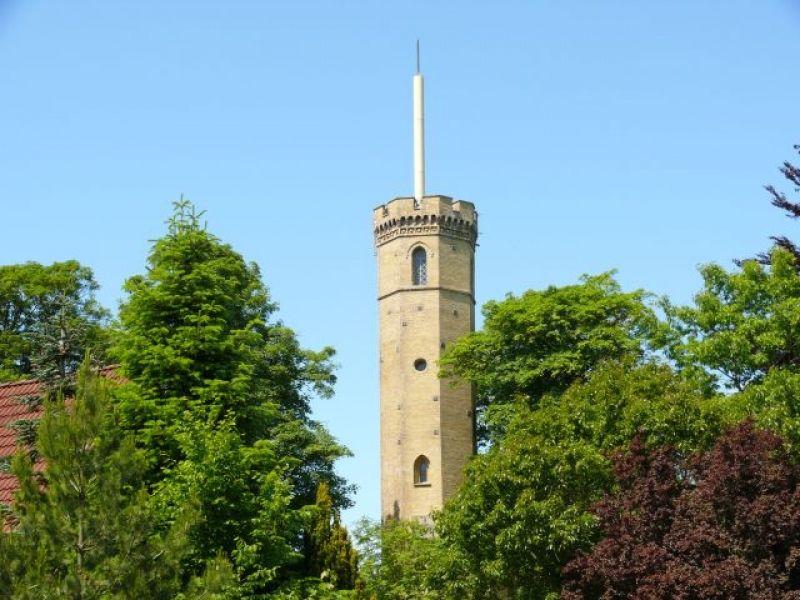 Der Luisenberger Turm mit einem tollen Ausblick auf Kellinghusen