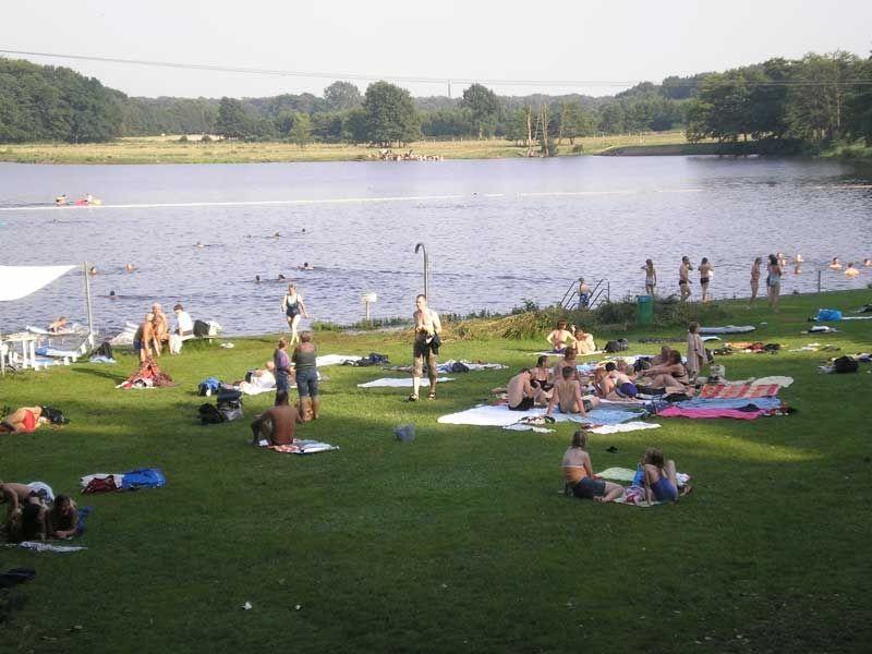 Das Naturbad Oberglinde ist ein Kleinod für Badegäste, Naturfreunde und Angler.