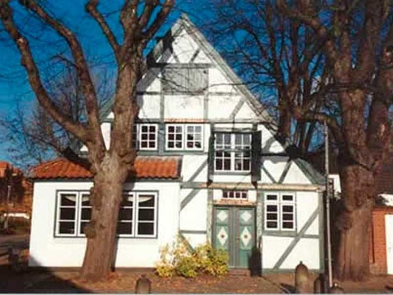 Das älteste Gebäude der Stadt Wedel.