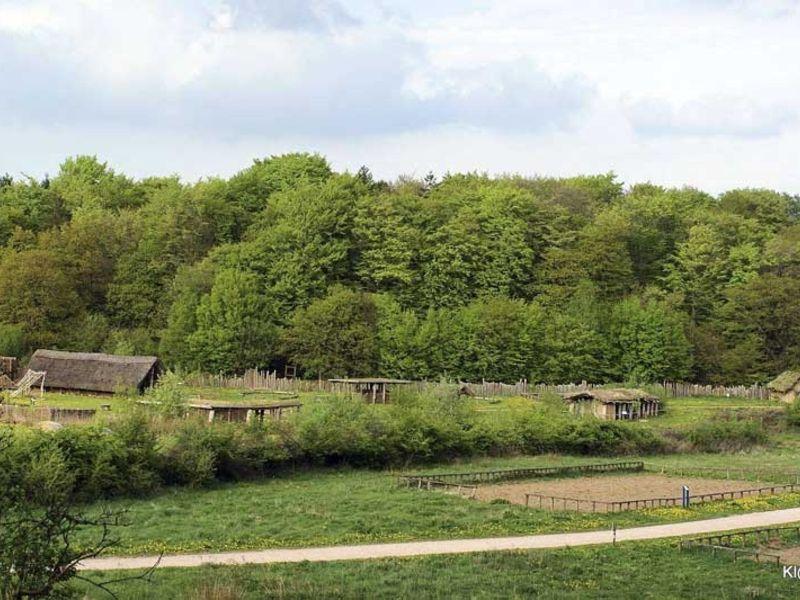 Steinzeit kennenlernen auf 40 Hektar großen Freigelände.
